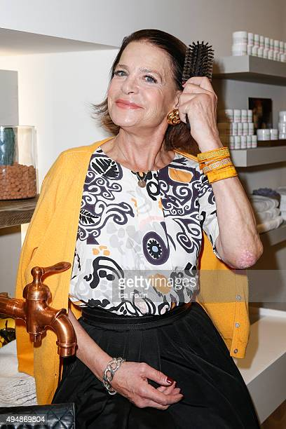 Barbara Engel attends the Flaconi Neo Salon Opening on October 29 2015 in Berlin Germany