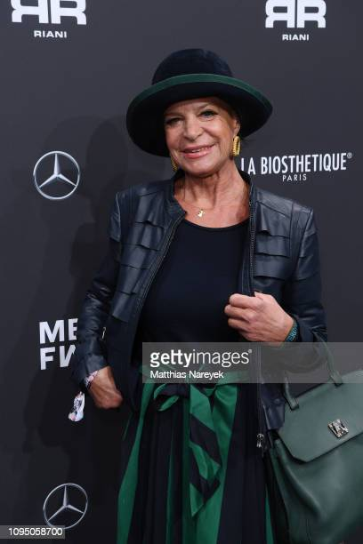 Barbara Engel attends the Riani show during the Berlin Fashion Week Autumn/Winter 2019 at ewerk on January 16 2019 in Berlin Germany