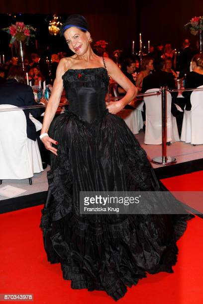 Barbara Engel during the aftershow party during the 24th Opera Gala at Deutsche Oper Berlin on November 4 2017 in Berlin Germany