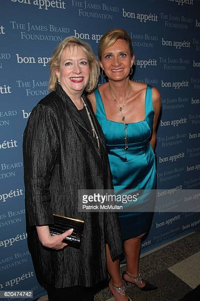 Barbara Fairchild and Sophie Gayot attend THE JAMES BEARD FOUNDATION and BON APPETIT present CHEF's NIGHT OUT at Edison Ballroom NYC on June 6 2008...