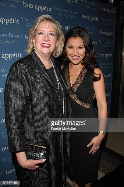 Barbara Fairchild and Victoria Recano attend THE JAMES BEARD FOUNDATION and BON APPETIT present CHEF's NIGHT OUT at Edison Ballroom NYC on June 6...