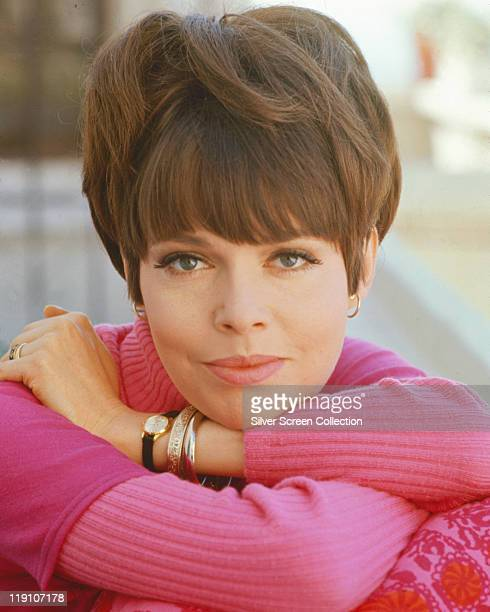 Barbara Feldon US actress in a publicity portrait for the US television series 'Get Smart' USA circa 1965 Feldon starred as 'Agent 99' in the secret...