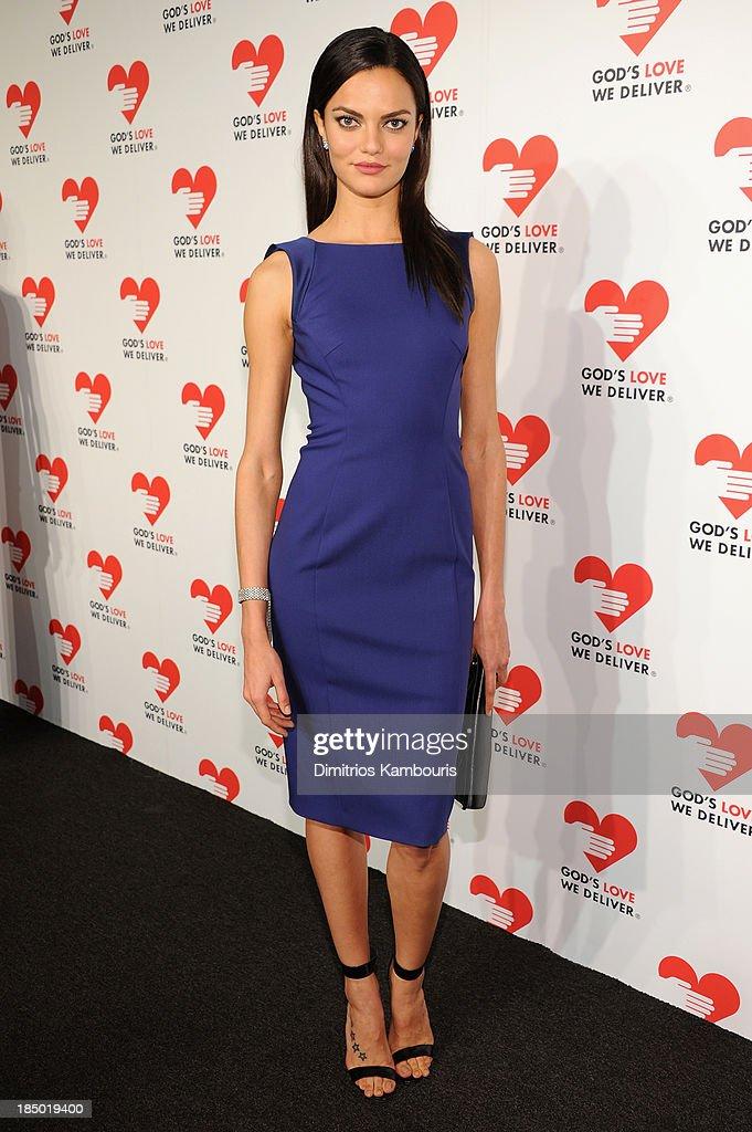 Barbara Fialho attends God's Love We Deliver 2013 Golden Heart Awards Celebration at Spring Studios on October 16, 2013 in New York City.