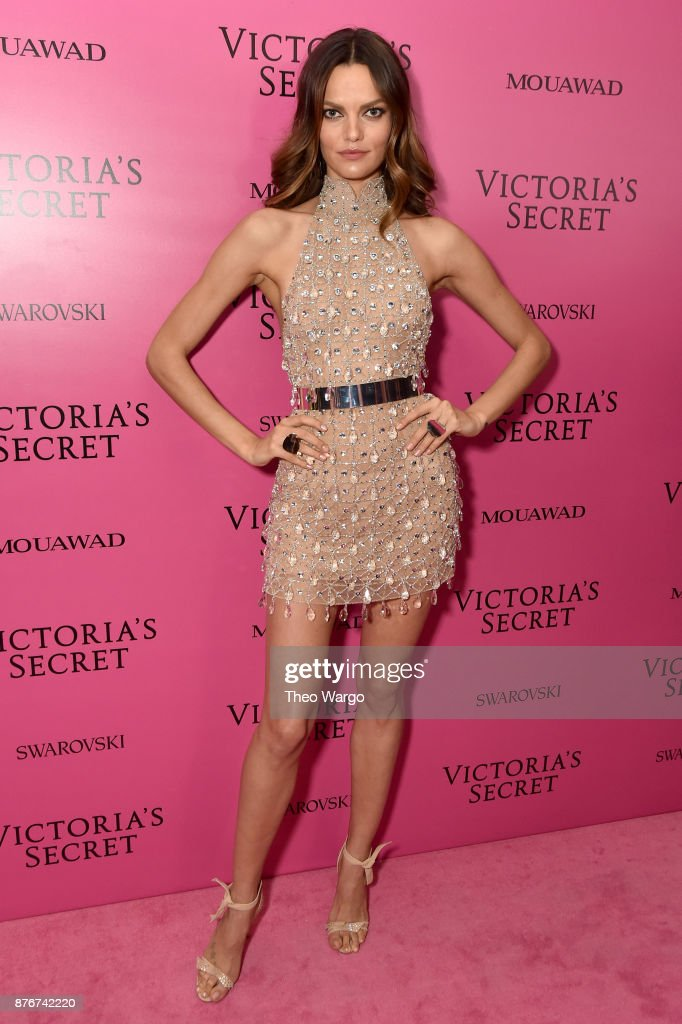 Barbara Fialho attends the 2017 Victoria's Secret Fashion Show In Shanghai After Party at Mercedes-Benz Arena on November 20, 2017 in Shanghai, China.