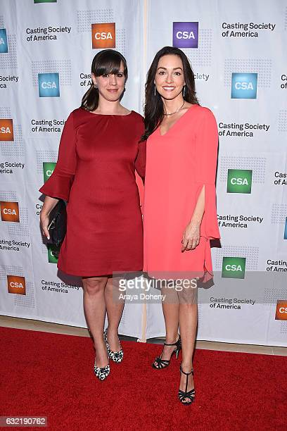 Barbara Fiorentino and Katrina Wandel arrive at the 2017 Annual Artios Awards at The Beverly Hilton Hotel on January 19 2017 in Beverly Hills...