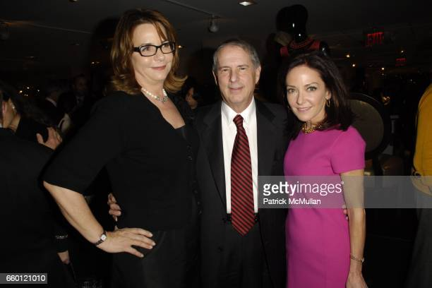 Barbara Friedmann Eric Tennen and Margaret Russell attend ELLE DECOR and BLOOMINGDALE'S Celebrate Reopening of Furniture Department With Auction...