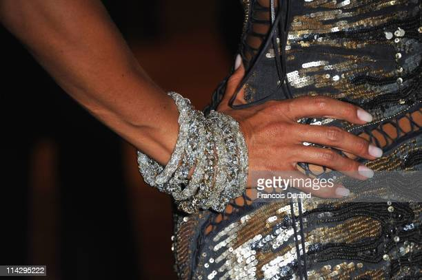 Barbara Gandolfi attends the Belmondo The Career tribute dinner during the 64th Annual Cannes Film Festival atthe Carlton Hotel on May 17 2011 in...