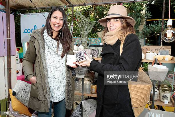 Barbara Garcia is wearing a Mango coat Ananda sweater Zara blue jeans a Casas boots and a Mainities mug and Architech Cristina Planell is wearing a...