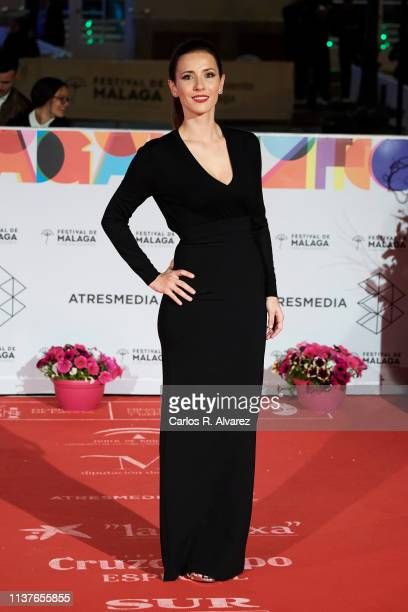 Barbara Goenaga attends 'Retrospectiva' award during the 22th Malaga Film Festival on March 22 2019 in Malaga Spain