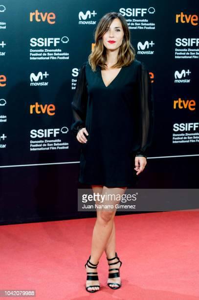 Barbara Goenaga attends the 'High Life' premiere during the 66th San Sebastian International Film Festival on September 27 2018 in San Sebastian Spain