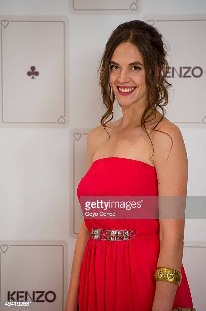 Barbara Gonzalez attends the Kenzo Summer Party photocall at Club Financiero Genova on May 28 2014 in Madrid Spain