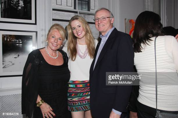 Barbara Gross Anne Huntington and Ray Huntington attend PYT Pretty Young Thing cocurated by Anne Huntington Diana Campbell at 833 Broadway on May 22...