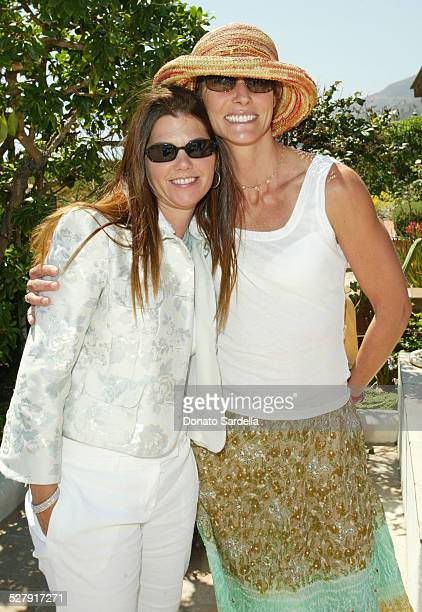 Barbara Grushow and Krista Levitan during Turi Hosts Peter Som's Trunk Show at The Home Of Barbara Grushow To Benefit The Alliance For Children's...