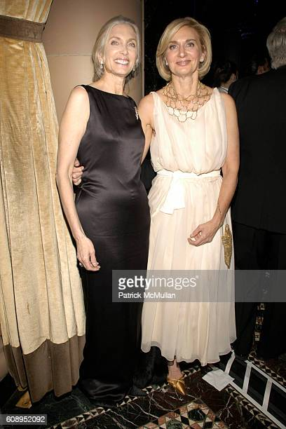 Barbara Guggenheim and Eileen GuggenheimWilkinson attend MUSEUM OF THE MOVING IMAGE SALUTES TOM CRUISE at Cipriani 42nd Street on November 6 2007 in...