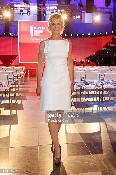 Barbara Hahlweg attends the Deutscher Gruenderpreis 2015 on June 23, 2015 in Wetzlar, Germany.