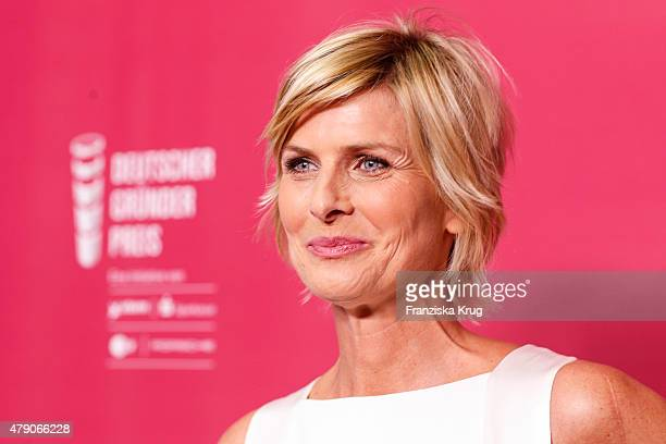 Barbara Hahlweg attends the Deutscher Gruenderpreis 2015 on June 30, 2015 in Berlin, Germany.