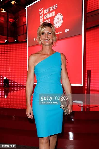 Barbara Hahlweg attends the Deutscher Gruenderpreis on July 5, 2016 in Berlin, Germany.