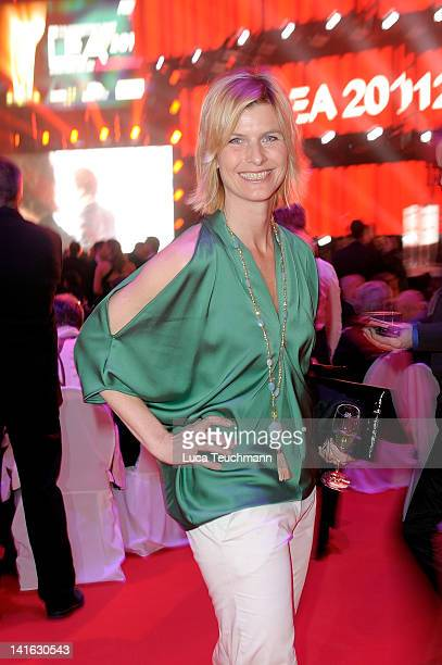 Barbara Hahlweg attends the Deutscher Live Entertainment Award - PRG LEA 2012' at the Festhalle on March 20, 2012 in Frankfurt am Main, Germany.