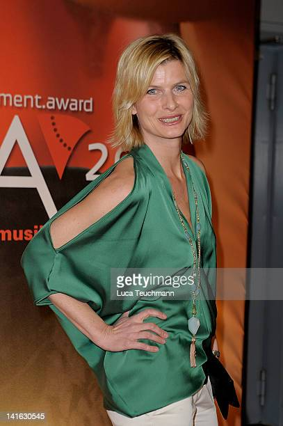 Barbara Hahlweg attends the Deutscher Live Entertainment Award PRG LEA 2012' at the Festhalle on March 20 2012 in Frankfurt am Main Germany