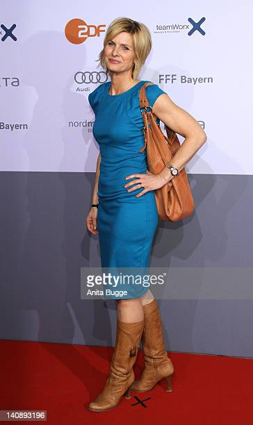 Barbara Hahlweg attends the Muenchen 72 Das Attentat Germany Premiere at Astor Film Lounge on March 7 2012 in Berlin Germany