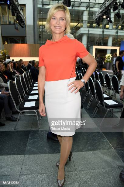 Barbara Hahlweg attends the XY Award 2017 as part of 'Aktenzeichen XY ungeloest' celebrates its 50th Anniversary' on October 17 2017 in Berlin Germany
