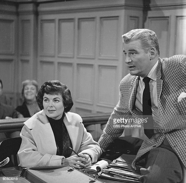 MASON Barbara Hale as Della Street and William Hopper as Paul Drake in The Case of the Fickle Fortune Image dated December 9 1960