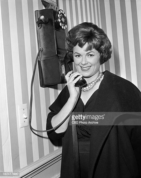 MASON Barbara Hale as Della Street in The Case of the Borrowed Baby Image dated March 12 1962