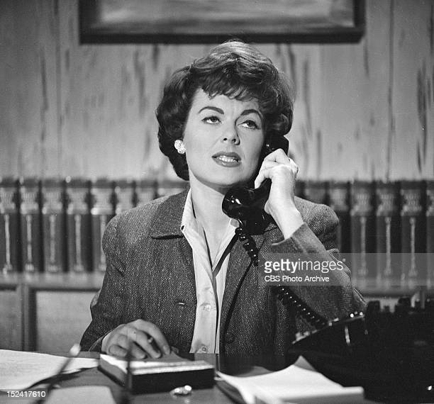 MASON Barbara Hale as Della Street in The Case of the The Wary Wildcatter Image dated December 2 1959