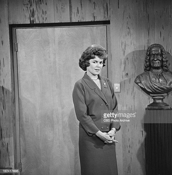 Barbara Hale as Della Street in the PERRY MASON episode 'The Case of the Shoplifter's Shoe' Image dated November 8 1962