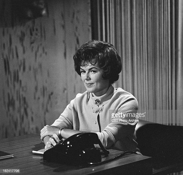 Barbara Hale as Della Street in the PERRY MASON episode The Case of the Decadent Dean Image dated August 19 1963