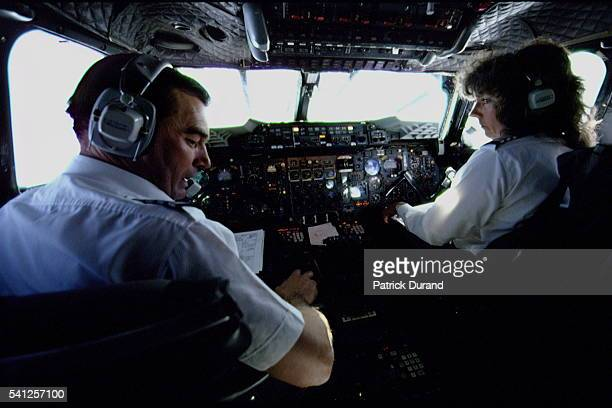 Barbara Harmer Concorde copilot on the London to New York flight