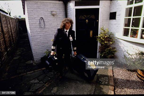 Barbara Harmer leaves home for another flight