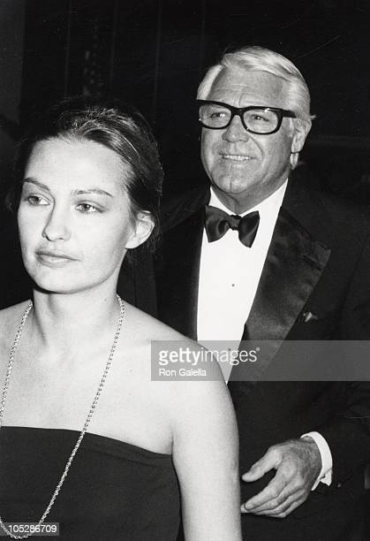 Barbara Harris and Cary Grant during 36th Annual Golden Globe Awards at Beverly Hilton Hotel in Beverly Hills California United States