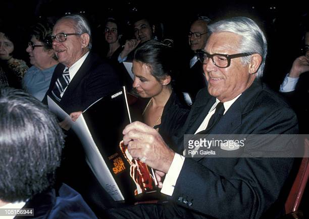 Barbara Harris and Cary Grant during Hide In Plain Sight Premiere Party at The Beverly Wilshire Hotel in Beverly Hills California United States
