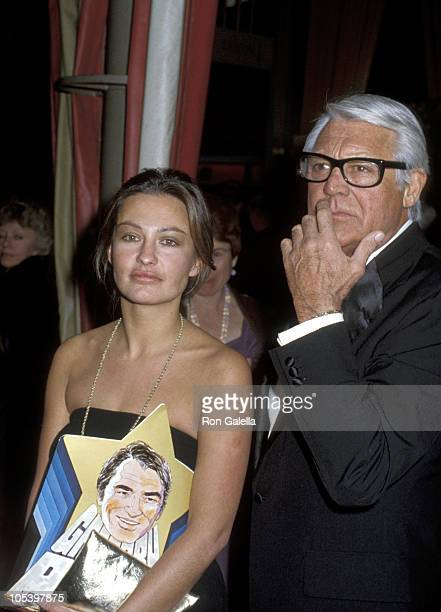 Barbara Harris and Cary Grant during March Of Dime Dinner at Beverly Hilton Hotel at Beverly Hilton Hotel in Beverly Hills California United States