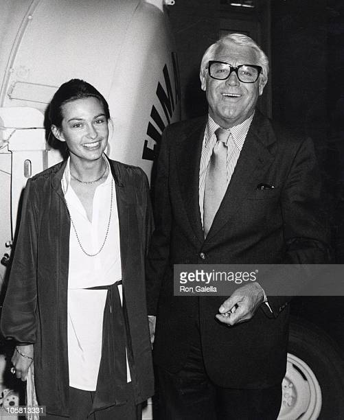 Barbara Harris and Cary Grant during The Champ Premiere Screening at MGM Studios in Los Angeles California United States