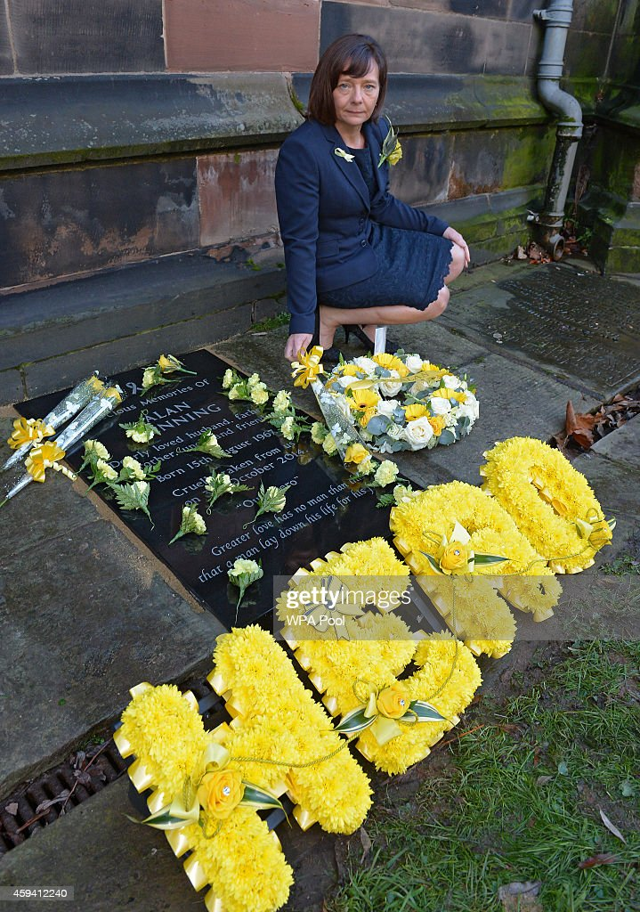 Alan Henning Memorial Service : Nieuwsfoto's