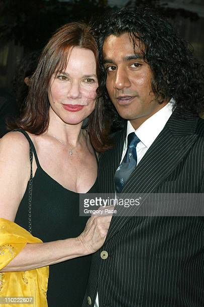 Barbara Hershey and Naveen Andrews of Lost during 2005/2006 ABC UpFronts at Lincoln Center in New York City New York United States