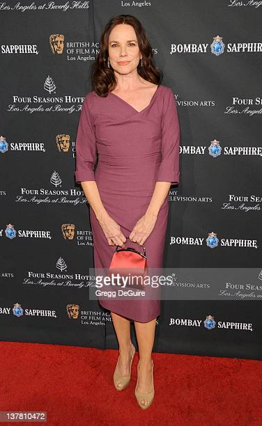 Barbara Hershey arrives at the 17th Annual BAFTA Los Angeles Awards Season Tea Party at the Four Seasons Hotel on January 15 2011 in Los Angeles...