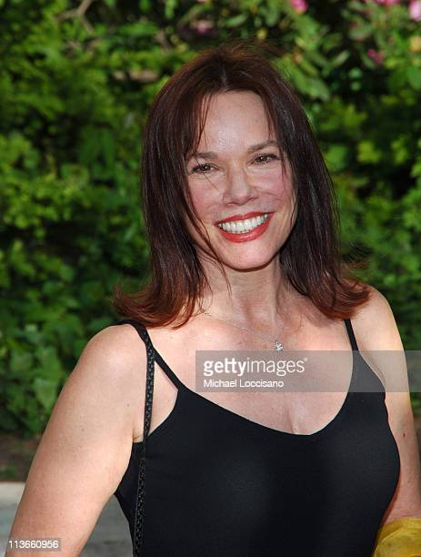 Barbara Hershey during 2005/2006 ABC UpFront Arrivals at Lincoln Center in New York City New York United States