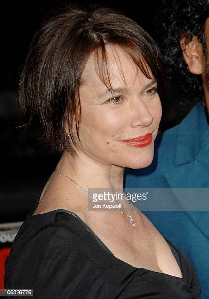 Barbara Hershey during Grindhouse Los Angeles Premiere Arrivals at Orpheum Theatre in Los Angeles California United States