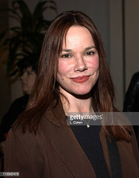 Barbara Hershey during The Quiet American Screening at Harmony Gold in Hollywood CA United States