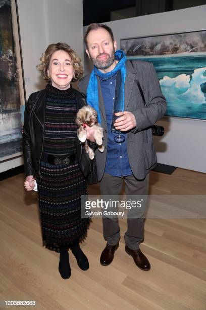 Barbara Hines and Alexander McQueen Duncan attend Iceland From The Outside on February 03, 2020 in New York City.