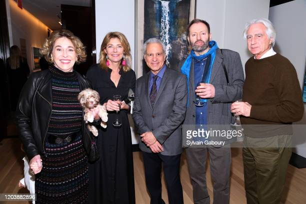 Barbara Hines, Laura Elsey Rick Wester, Alexander McQueen Duncan and Douglas Mellor attend Iceland From The Outside on February 03, 2020 in New York...