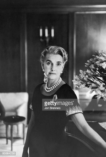 Barbara Hutton at wedding of son.
