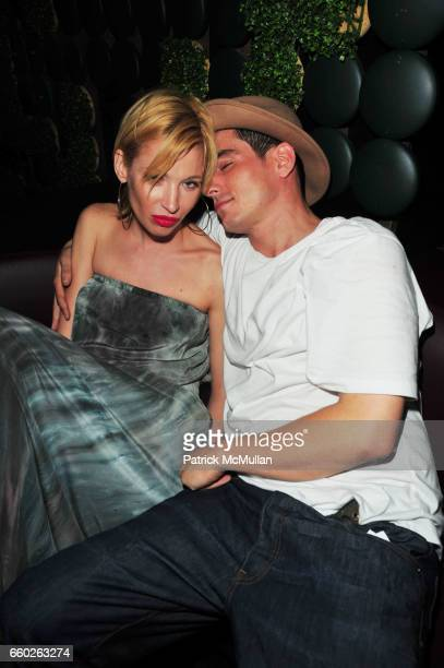 Barbara Jackson and Ethan Browne attend Noel Ashman Birthday Party at Greenhouse NYC on June 25 2009 in New York City