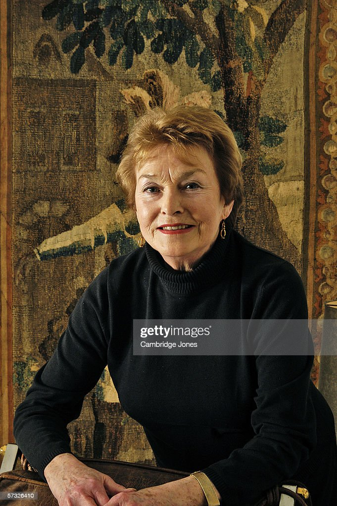 Barbara Jefford poses during a photo call held on January 12, 2005 at her home in London, England.