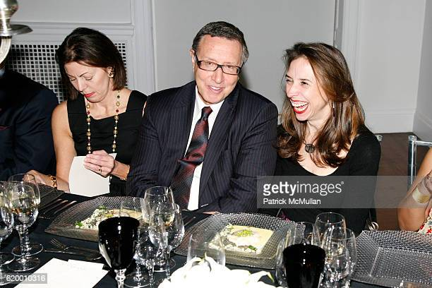 Barbara Kalvaria, Norman Pearlstine and Jane Boone attend DOMINIQUE LEVY, DOROTHY BERWIN and RICHARD GEOFFROY launch four extraordinary DOM PERIGNON...