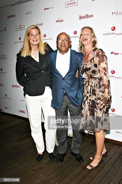 Barbara Karan, Ian Karan, Dr. Manuela Hein Bei Der Players Night Am Rande Der Atp Tennis Masters In Der Insel In Hamburg Am 160507 .