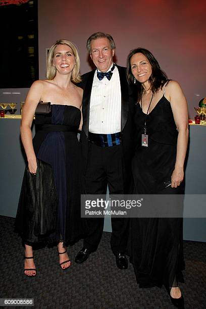 Barbara Kashion Peter Britton and Andrea Costa attend TIME Magazine's 100 Most Influential People 2007 at Jazz at Lincoln Center on May 8 2007 in New...